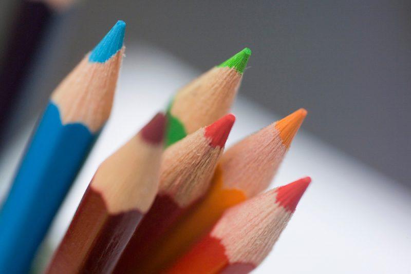Kunsttherapie für Kinder - Arbeitsmedien