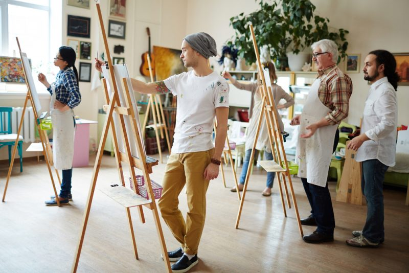 Kunsttherapie - eine Kreativtherapie