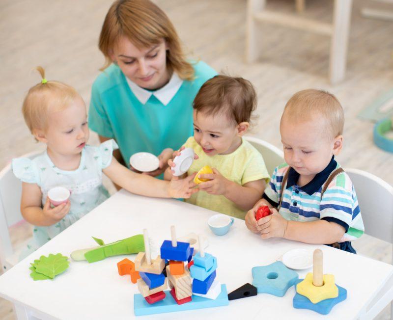 Betreuungsangebote für Kleinkinder