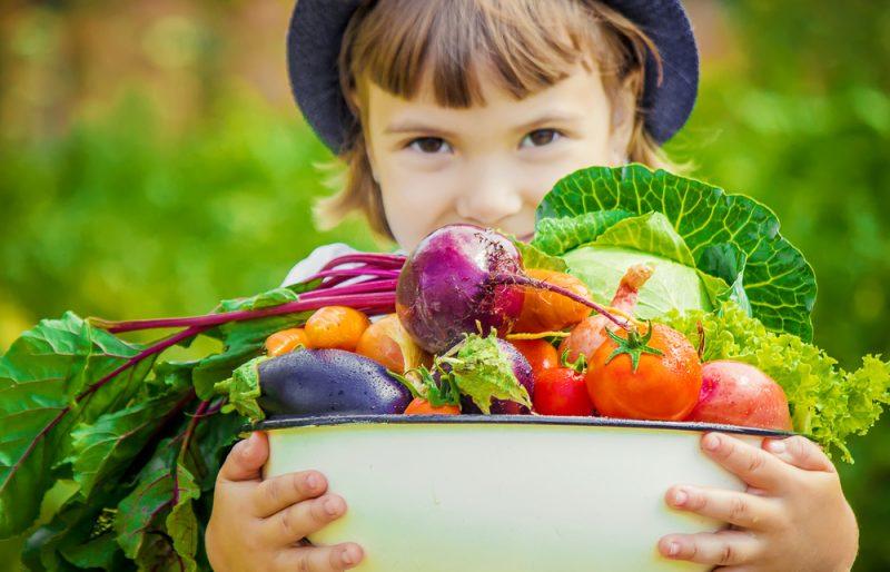Eine ausgewogene und vollwertige Ernährung hilft