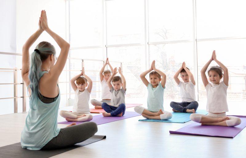 Bereits Kleinkinder profitieren von Yoga-Übungen