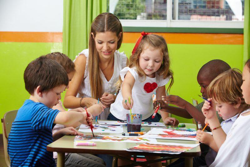 Kindertagesstätten - Ort sozialer Kontakte