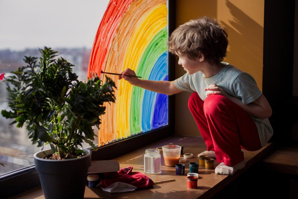 Als Kind sind wir alle unheimlich kreativ