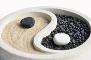 Gestaltungselemente in der Yin und Yang