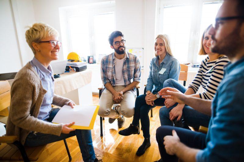 Kreative Berufe im Team erlernen