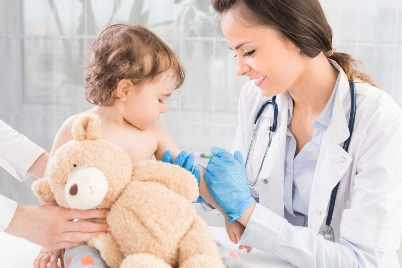 Impfungen gegen typische Kinderkrankheiten