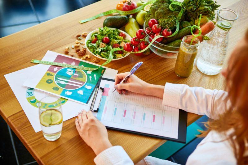 Gesunde Ernährung und Vitamine