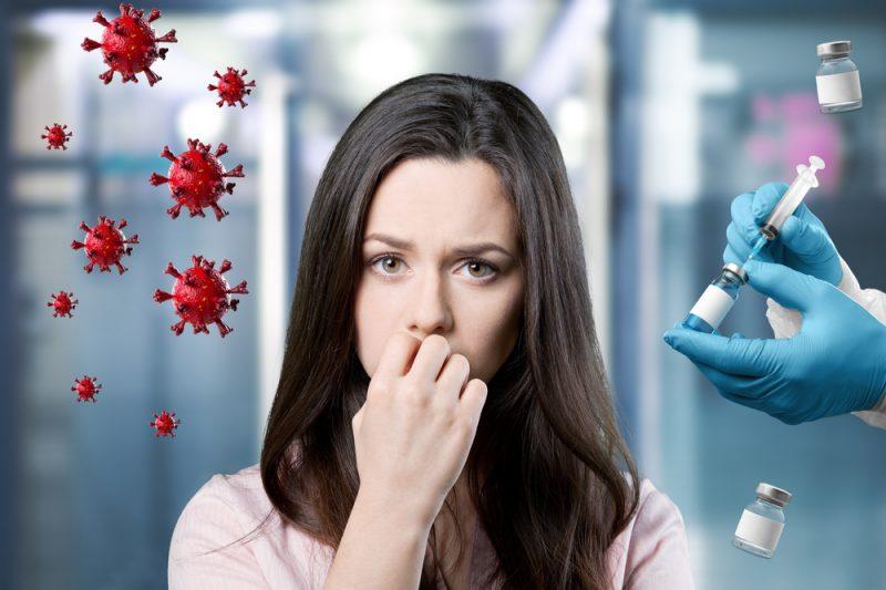 Leben mit der Angst vor dem Virus