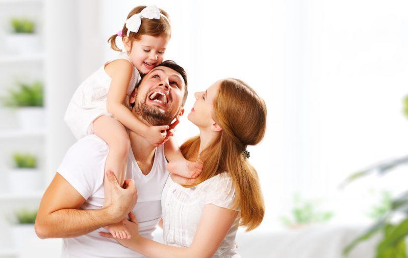 In der Familie füreinander da sein - gemeinsam stark sein